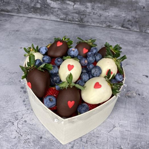 Коробка «Шоко сердце»