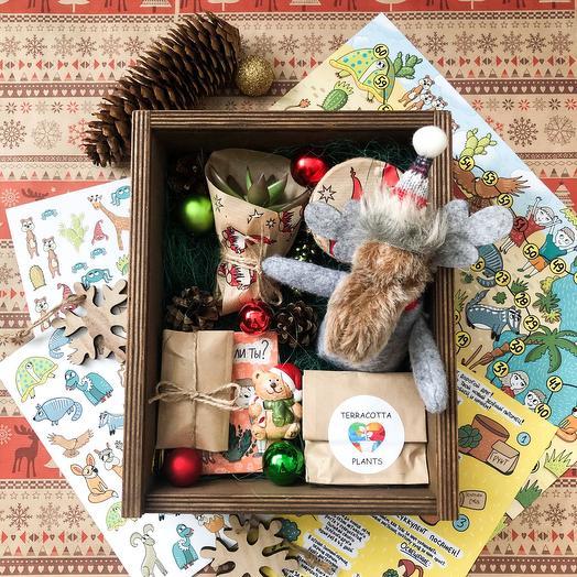 Детский новогодний подарочный набор