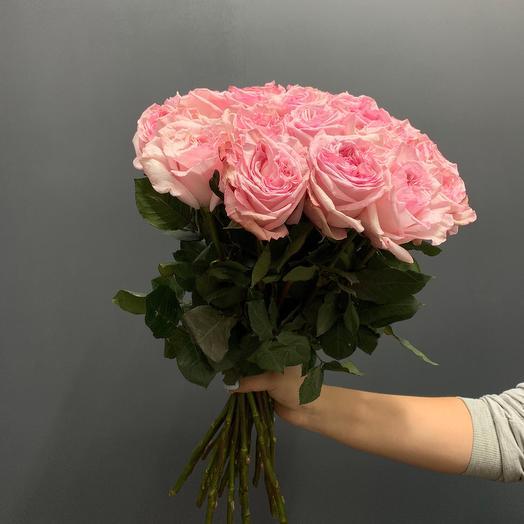 Роза пионовидная сорт Пинк Охара
