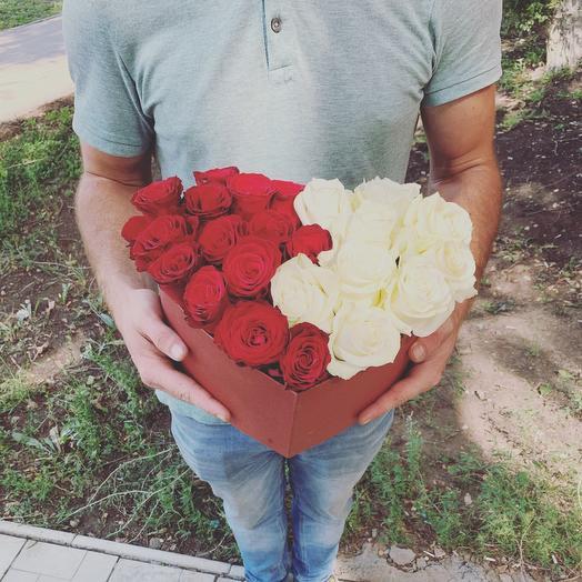 Сердце из роз 23