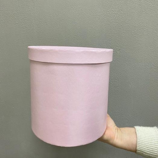 Шляпная коробка большая (Нежно-Розовая)