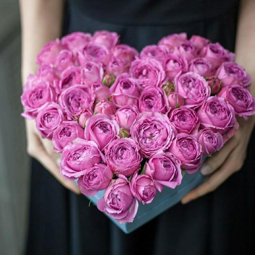 """Коробка """"Розовое сердце"""""""
