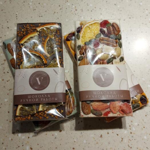 Шоколад ручной работы от Verona