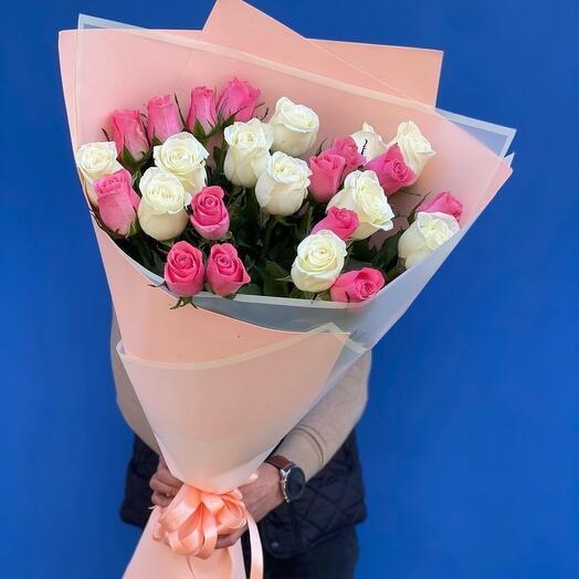 гигант из 25 роз