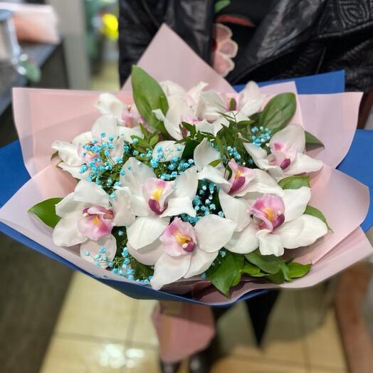Букет «Нежная орхидея»