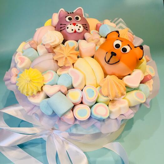 Коробка со сладостями «Радуга»