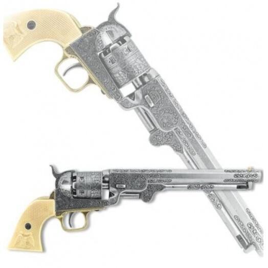 Револьвер сша морской, кольт 1851 г