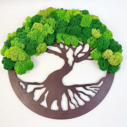 3 Дерево жизни зелёное 30 см