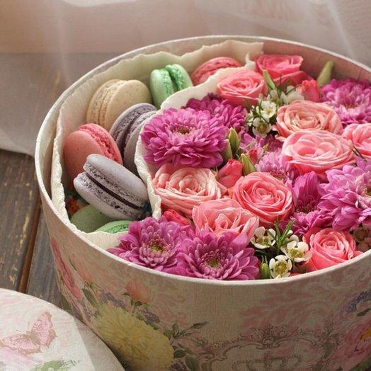 Коробочка Прованс: букеты цветов на заказ Flowwow