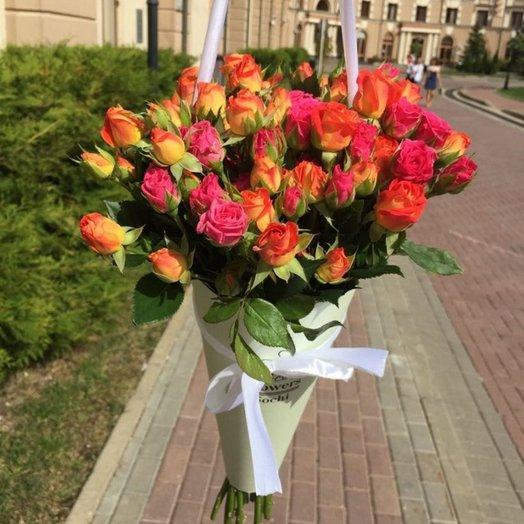 Композиция Осенние краски: букеты цветов на заказ Flowwow