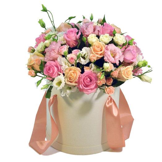 Коробка Инфинити: букеты цветов на заказ Flowwow