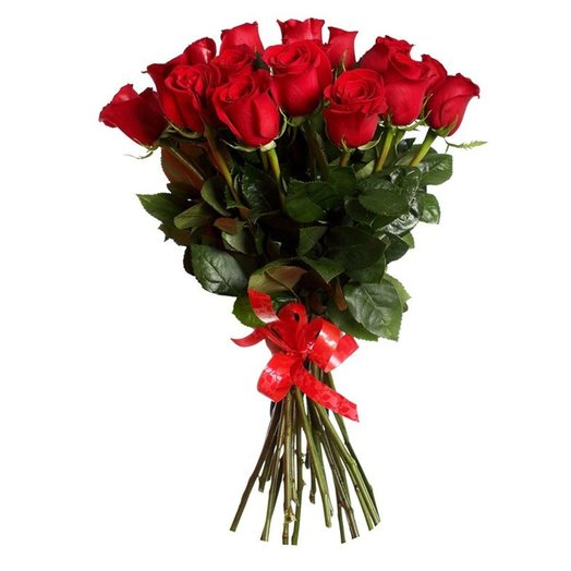 Букет из 21 импортной роза: букеты цветов на заказ Flowwow