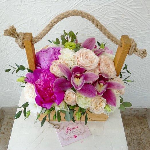 Милый ящик: букеты цветов на заказ Flowwow