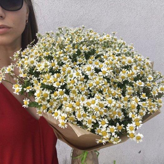 25 ромашек в крафте: букеты цветов на заказ Flowwow