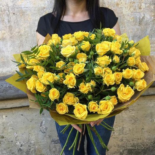 Букет солнца: букеты цветов на заказ Flowwow