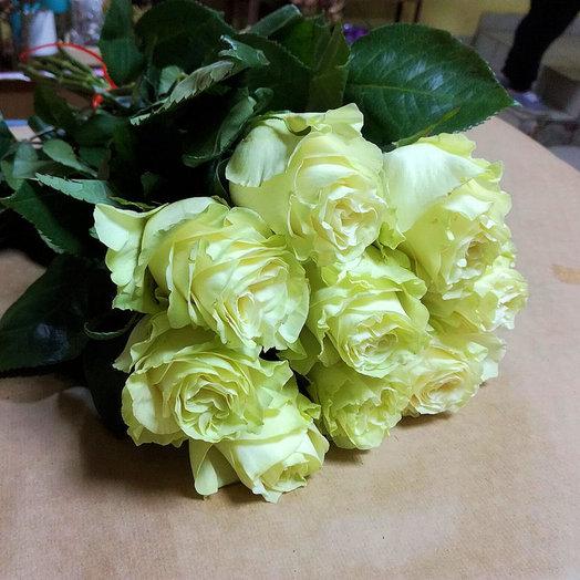 Букет из 9 премиум-роз Mondial: букеты цветов на заказ Flowwow