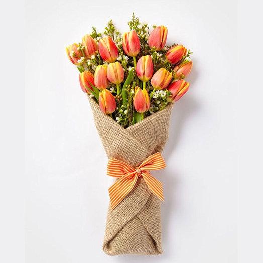 Ласковое пламя (Букет 64): букеты цветов на заказ Flowwow