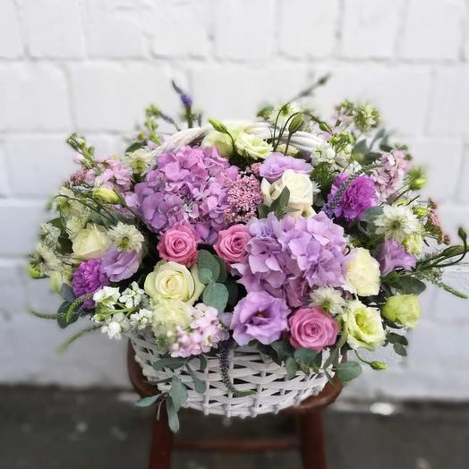Корзина весеннее настроение )): букеты цветов на заказ Flowwow