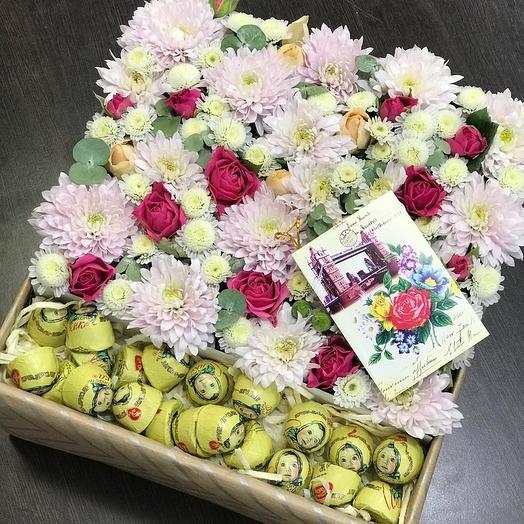 Цветочная Алёнушка: букеты цветов на заказ Flowwow
