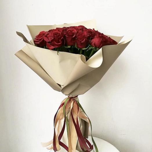 Букет «Прекрасная роза»: букеты цветов на заказ Flowwow
