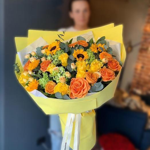 Цитрусовый фреш: букеты цветов на заказ Flowwow