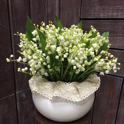 Ландыши: букеты цветов на заказ Flowwow