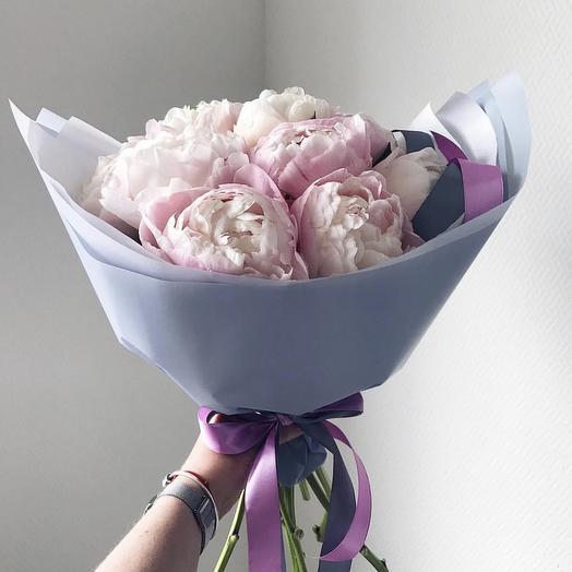 Кремовая Нежность: букеты цветов на заказ Flowwow