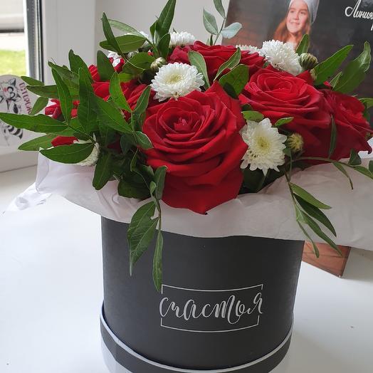 Шляпная Романтик: букеты цветов на заказ Flowwow