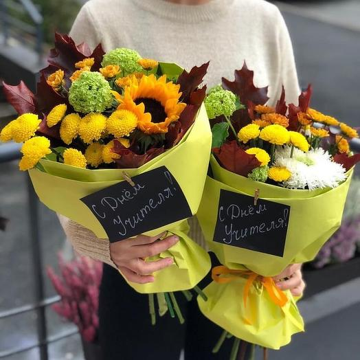 С первым сентября: букеты цветов на заказ Flowwow