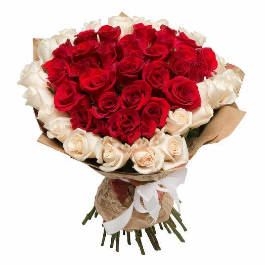"""Букет """"Влюбленный Ромео"""": букеты цветов на заказ Flowwow"""