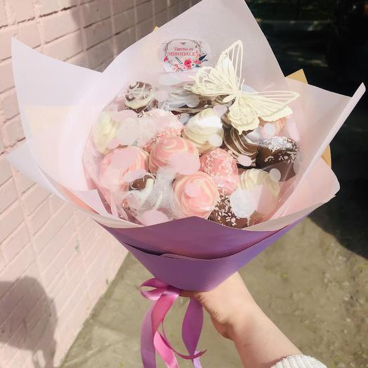 Клубника «Lily»: букеты цветов на заказ Flowwow