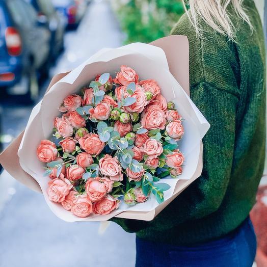 Южная ночь: букеты цветов на заказ Flowwow