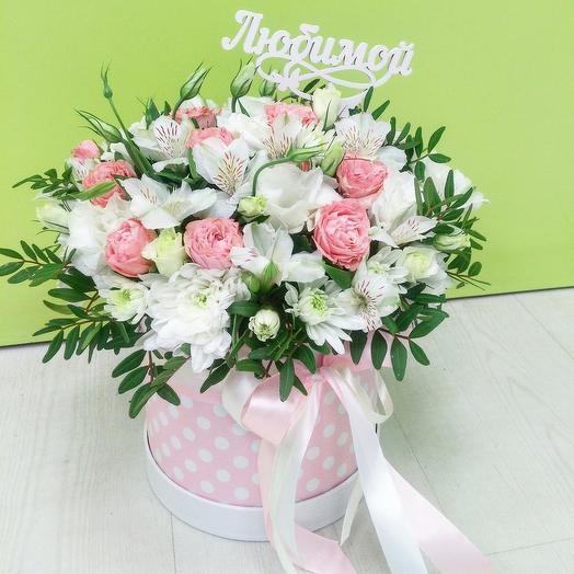 "Цветочная композиция ""Воздух"": букеты цветов на заказ Flowwow"