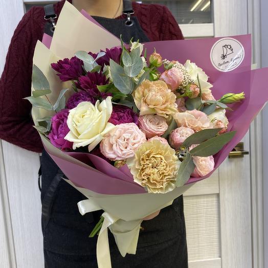 Прекраное мгновенье: букеты цветов на заказ Flowwow