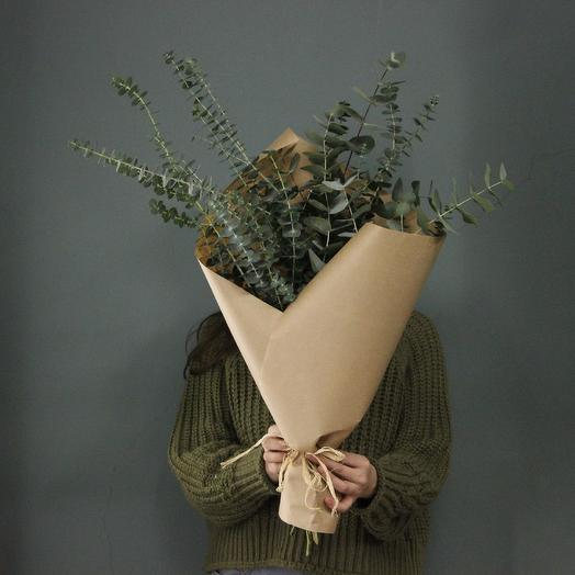 Кулёк эвкалипта: букеты цветов на заказ Flowwow