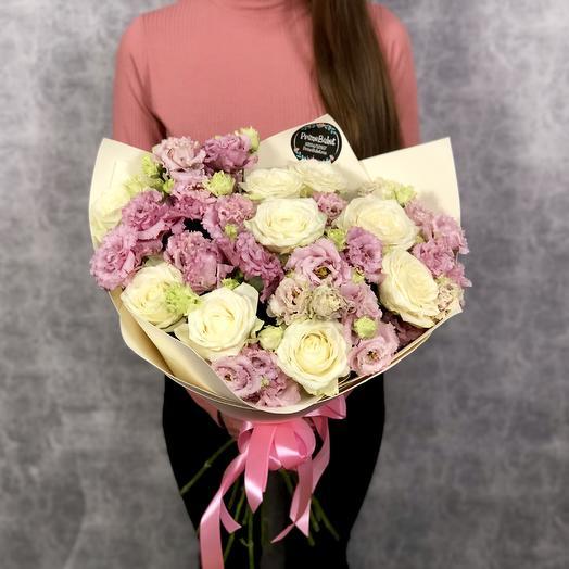 Воздушный кем: букеты цветов на заказ Flowwow