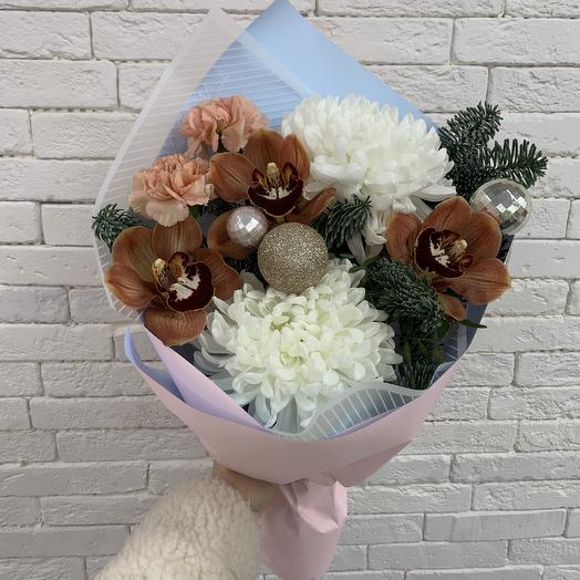 Букетик с орхидеей: букеты цветов на заказ Flowwow
