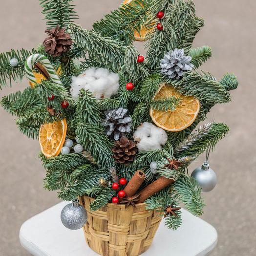 Christmas composition: букеты цветов на заказ Flowwow