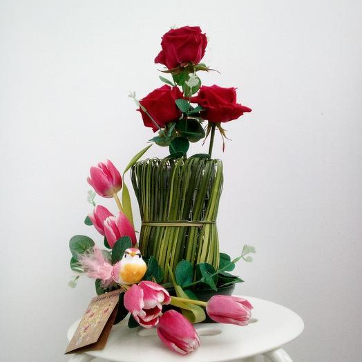 """Композиция """"Для Тебя!"""": букеты цветов на заказ Flowwow"""
