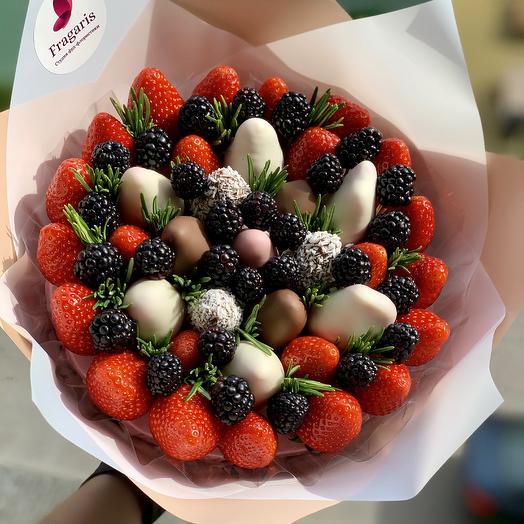 Ягодная мечта: букеты цветов на заказ Flowwow