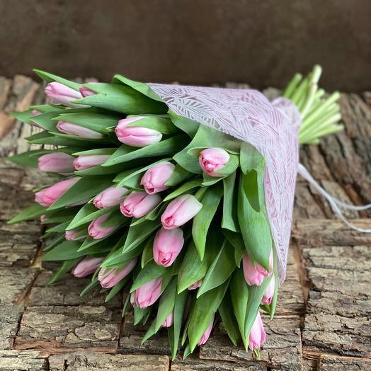 Розовые тюльпаны 💗