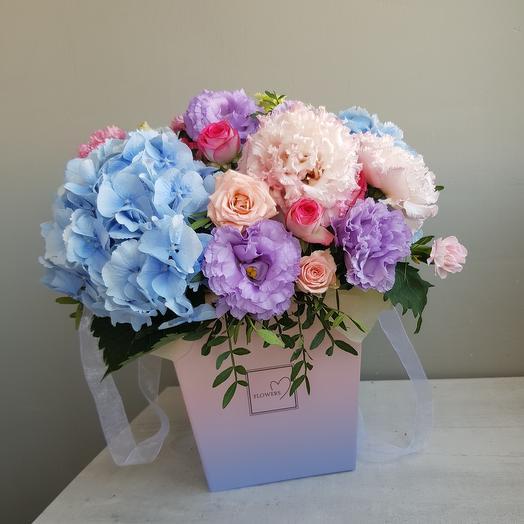 "Box ""Blooming garden"""