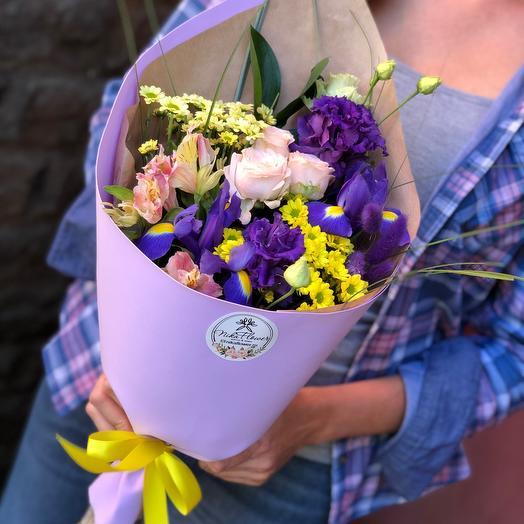 Синеглазка: букеты цветов на заказ Flowwow