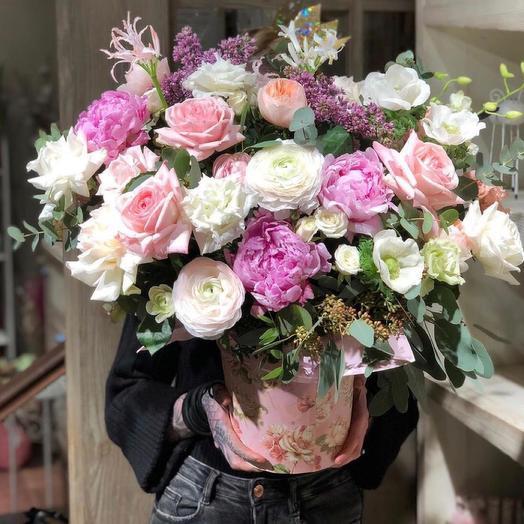 Букет цветов «Радостная новость»