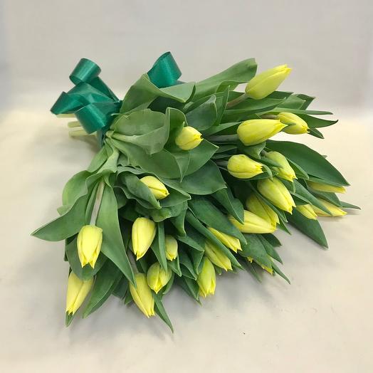 Букет 25 тюльпан