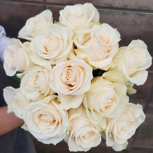 Монобукет Vendela роза одноголовая 50 см — 13 шт под ленту