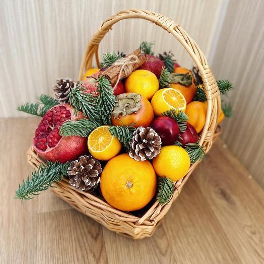«Санта» на корзине