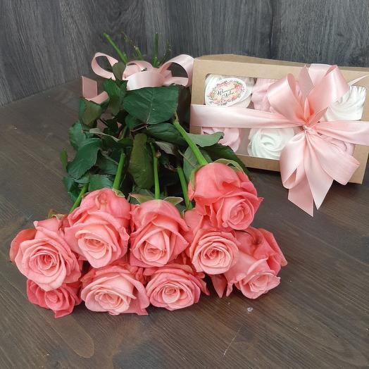 Роза и зифир