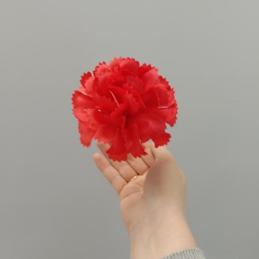 Гвоздика искусственная красная
