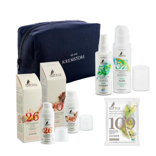 Набор AntiAge для нормальной и комбинированной кожи, Sativa